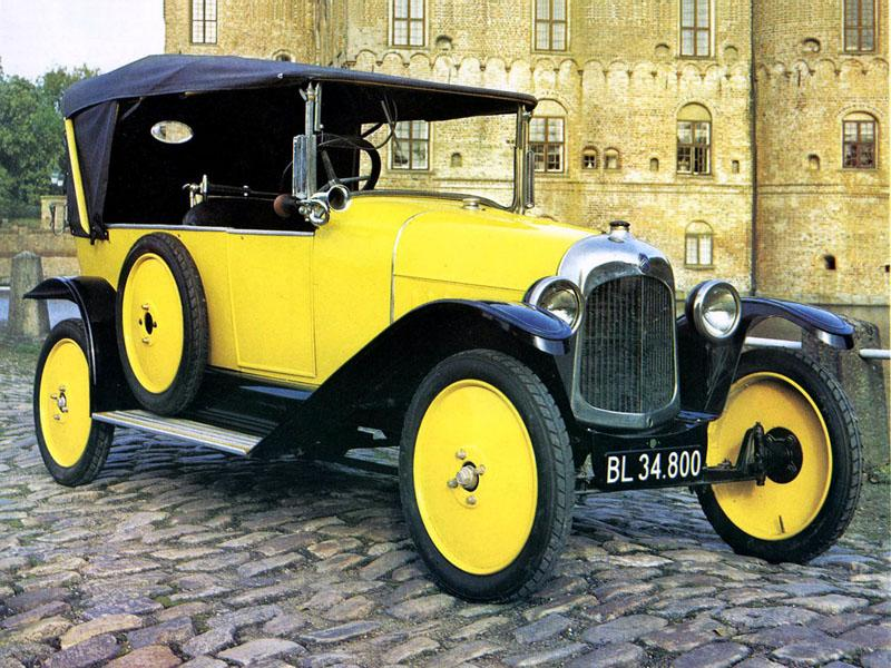 10 HP Type A Torpédo 1920