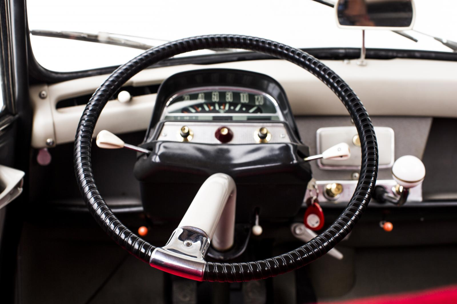 AMI 6 steering wheel