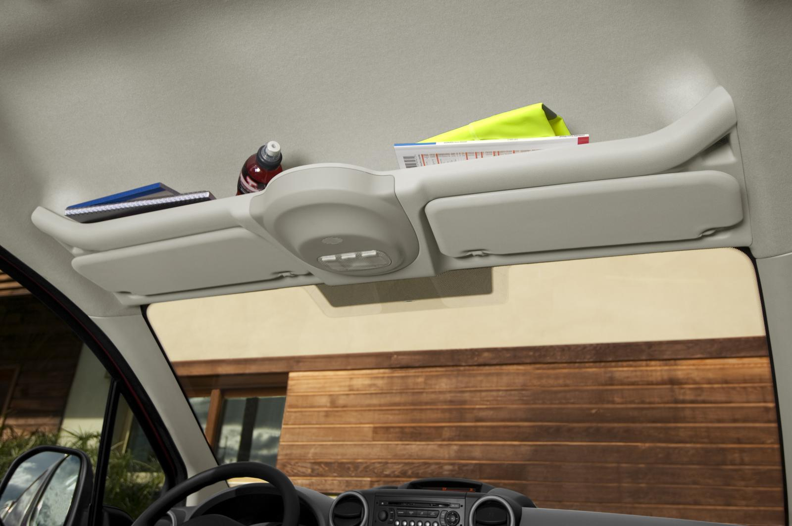 Berlingo 2008 roof storage