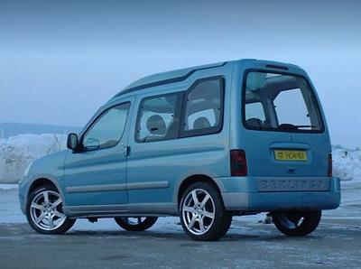 Berlingo Escapade 2004 concept by Sbarro
