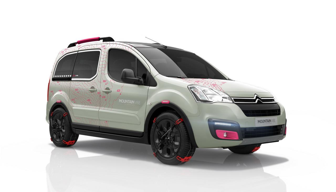 Berlingo Mountain Vibe 2015 3/4 front