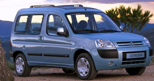 Berlingo Multispace 2002 reshaped