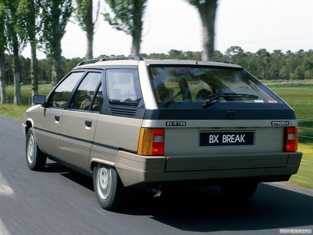 BX 19 TRS Break 1985 rear 3/4