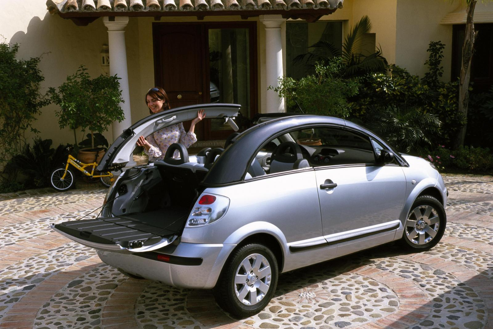 C3 Pluriel 2005 without roof rack