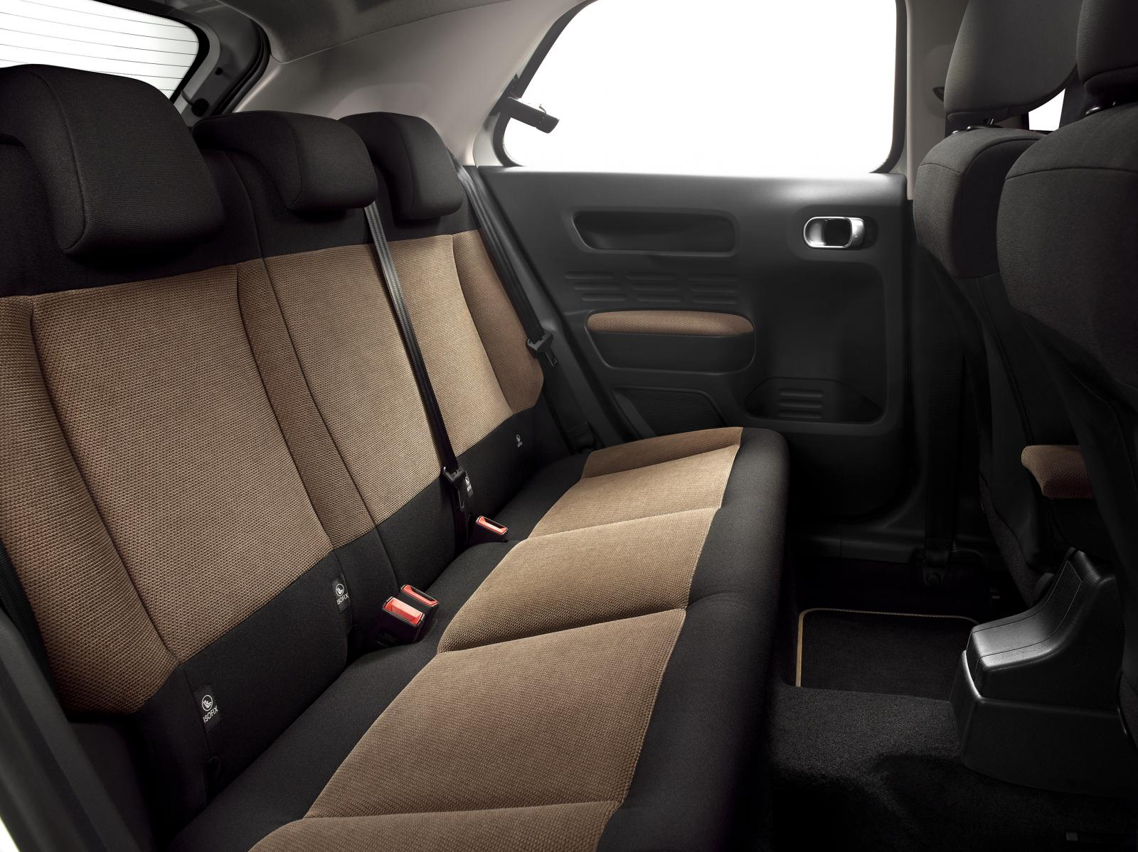 C4 Cactus Shine edition 2014 backseat