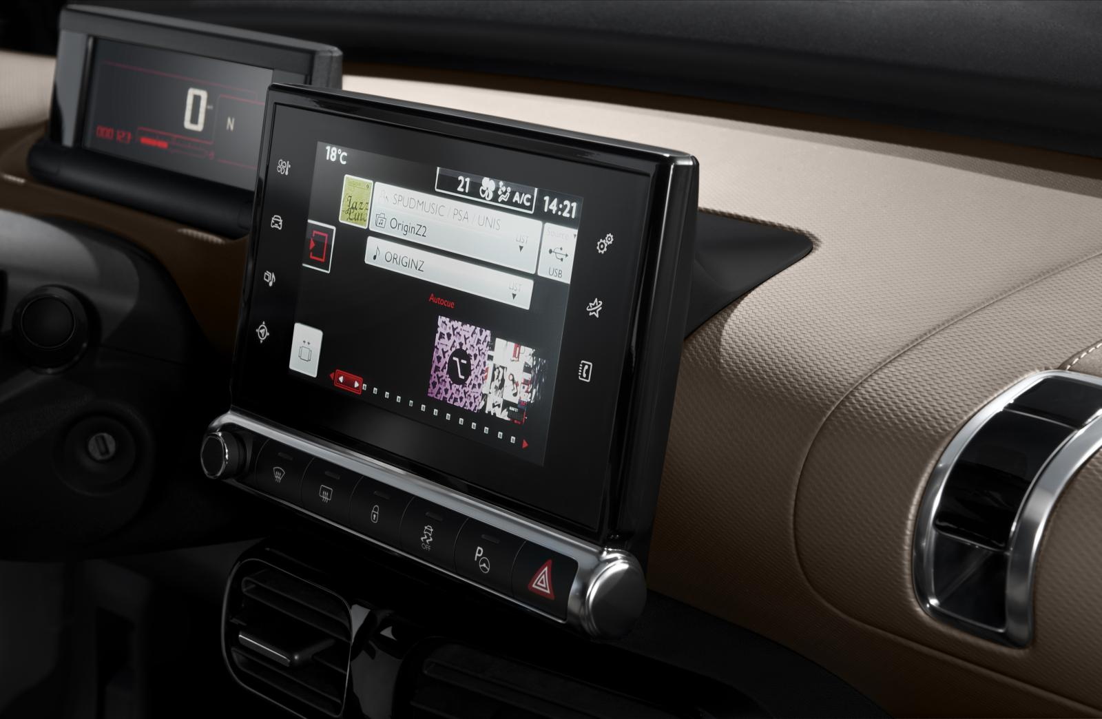 C4 Cactus Shine edition 2014 dash board