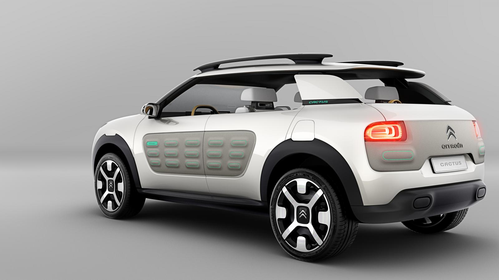 Concept-Car Cactus 2013 rear 3/4