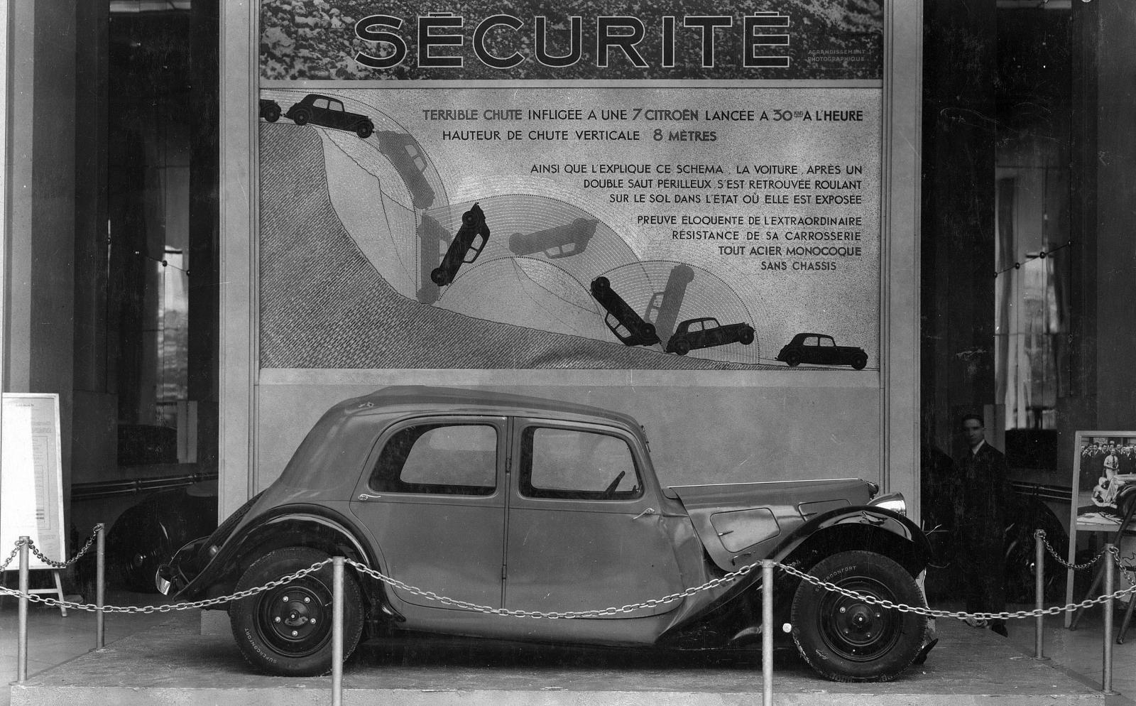 Traction drive security advertisement