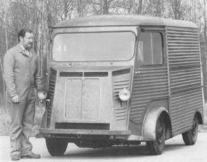 Type G 1949 little van project in the vein of TUB